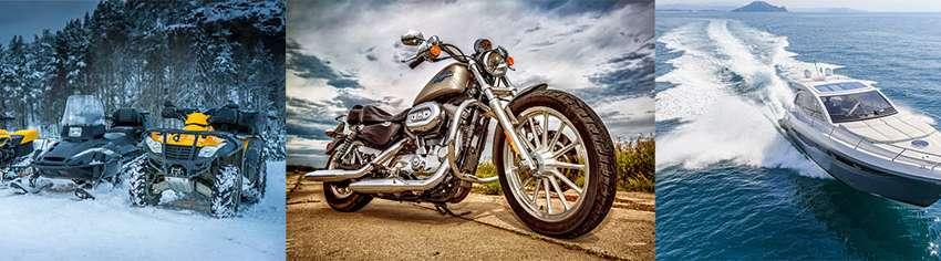 Motorcycle / Snowmobile / Boat / ATV / Golf Cart